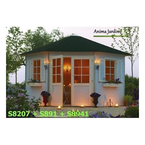 Chalet de jardin d angle meilleures id es cr atives pour la conception de la maison - Le petit jardin dutronc karaoke nanterre ...