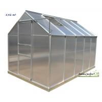Serre Jardin Horticole 16 M2 En Verre Tremp Aluminium