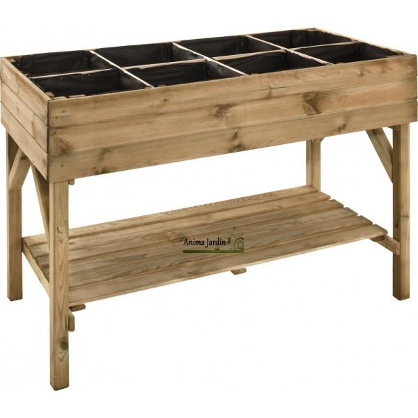 carr potager haut gariguette carr de jardin achat vente. Black Bedroom Furniture Sets. Home Design Ideas