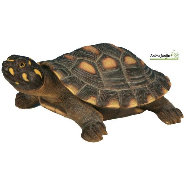 Tortue de floride en r sine d coration de jardin tortue - Resine de decoration ...