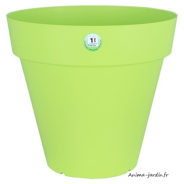 Pot fleurs ext rieur terrasse soleilla 70cm riviera for Fleurs a livrer a domicile pas cher