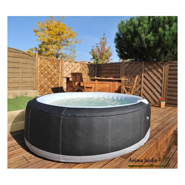 spa gonflable exterieur good with spa gonflable exterieur simple habillage composite pour spa. Black Bedroom Furniture Sets. Home Design Ideas