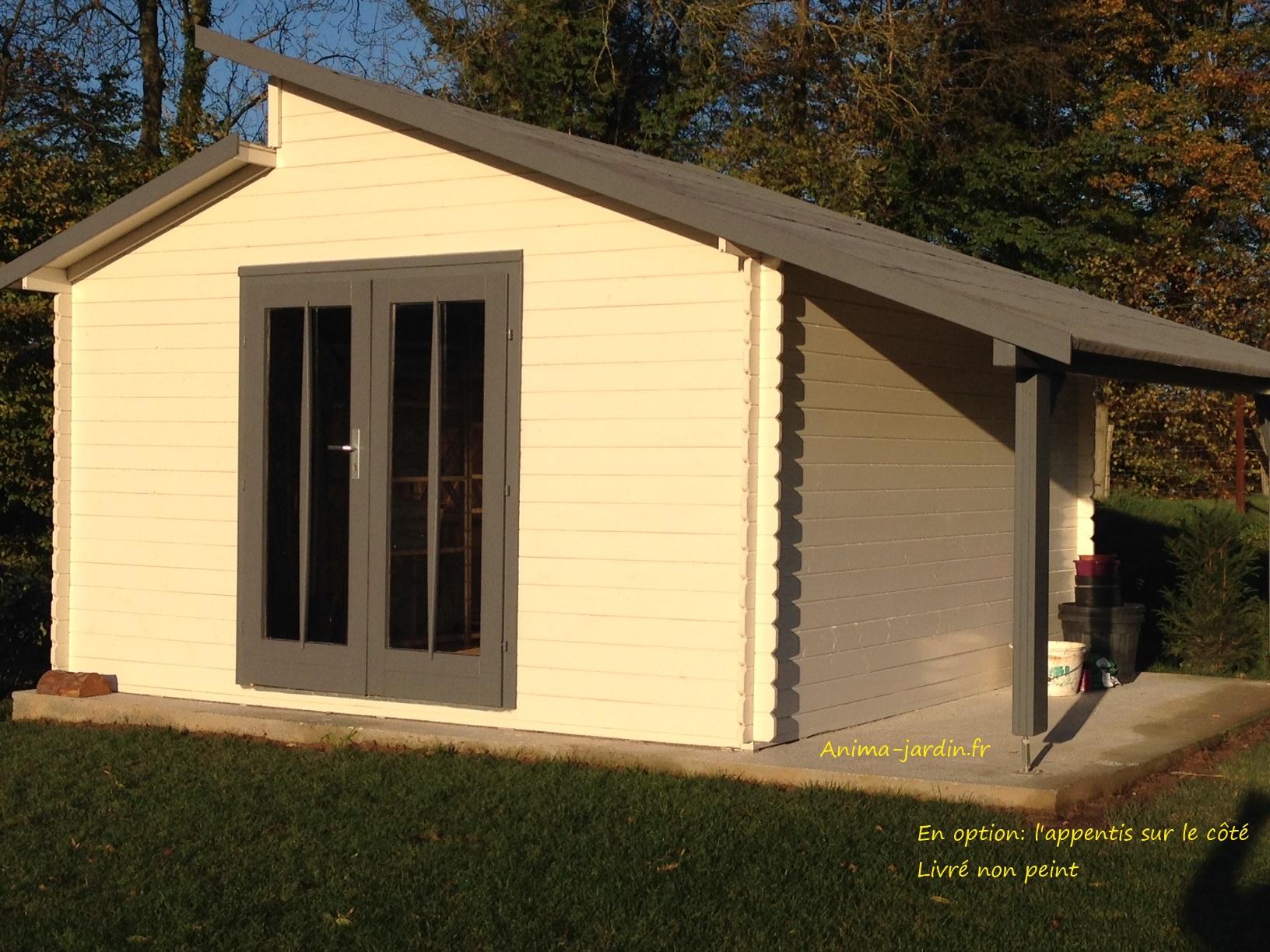 abri de jardin varmland 2 28mm 13 24m int rieur karibu. Black Bedroom Furniture Sets. Home Design Ideas