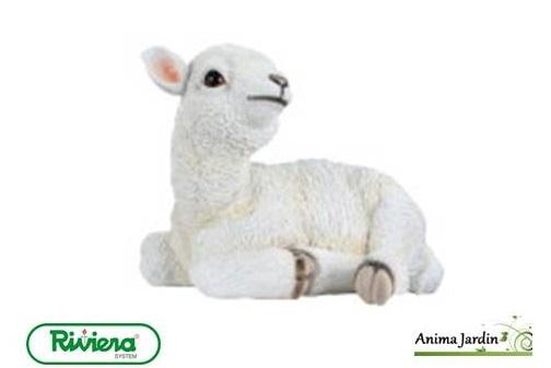Animaux resine exterieur conceptions de maison for Mouton deco jardin