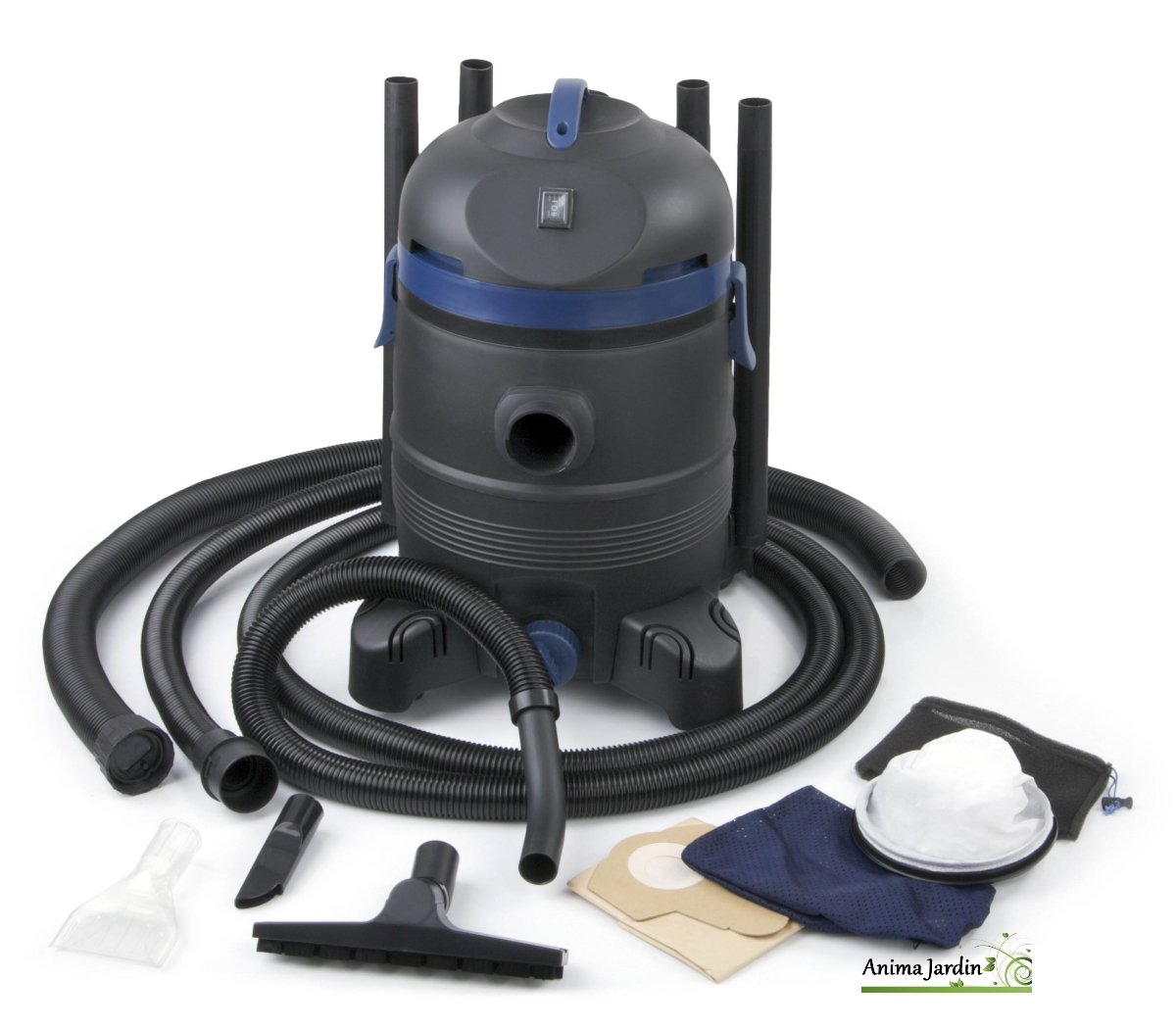 Aspirateur pour bassin vacupro cleaner maxi ubbink for Filet aspirateur piscine
