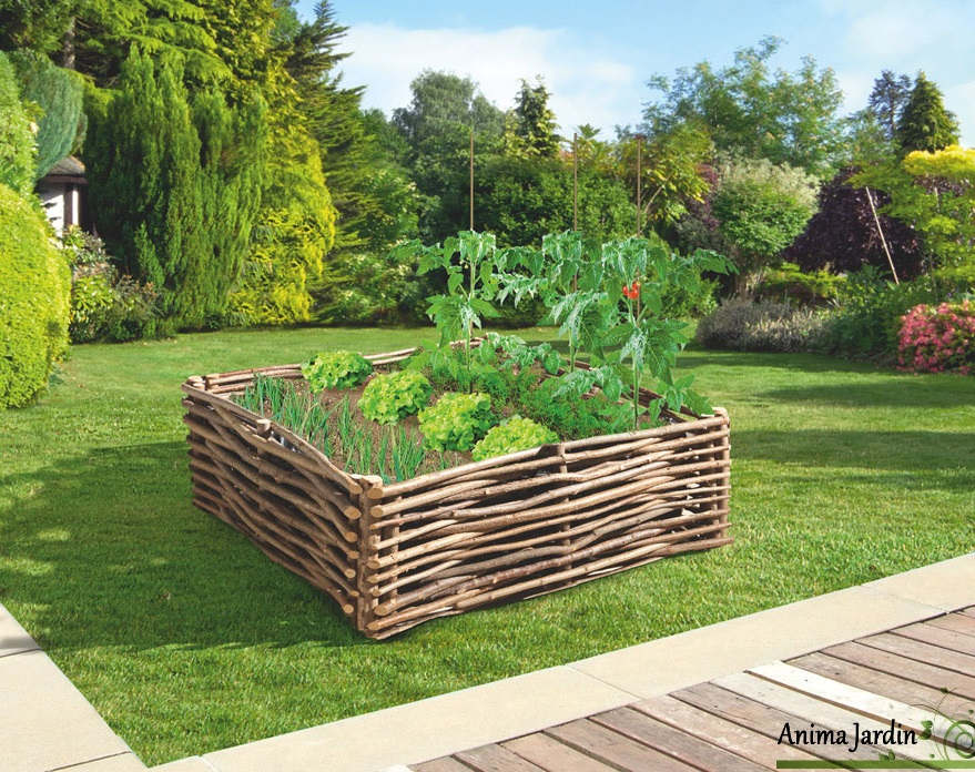 carr potager avec bache divis 100x100 pictures to pin on. Black Bedroom Furniture Sets. Home Design Ideas