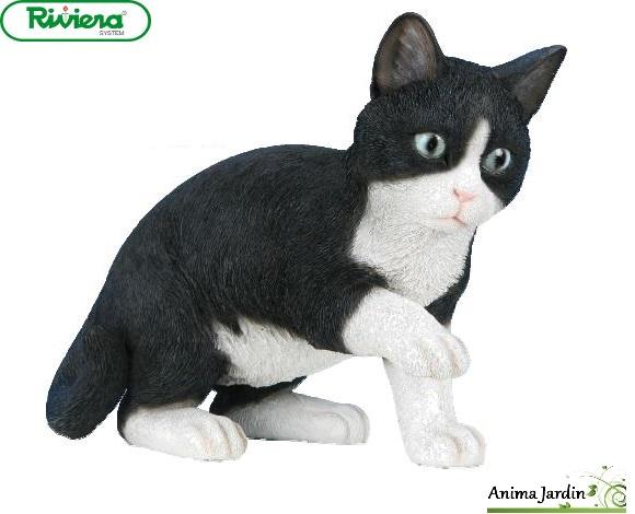 chat jouant 35cm noir