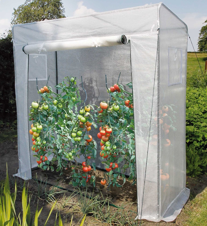 Serre tomate serre souple pvc roma pas cher nortene achat for Film plastique anti uv pour serre de jardin