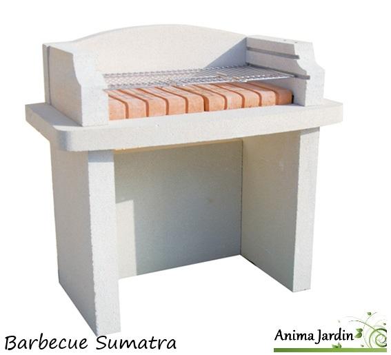 barbecue en pierre sumatra pas cher charbon de bois achat vente. Black Bedroom Furniture Sets. Home Design Ideas