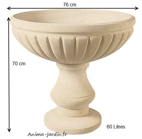Wonderful Jardiniere Pierre Reconstituee #4: Vasque-060-397-anima ...