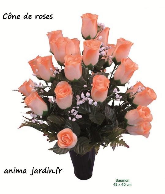 cone de rose artificielle