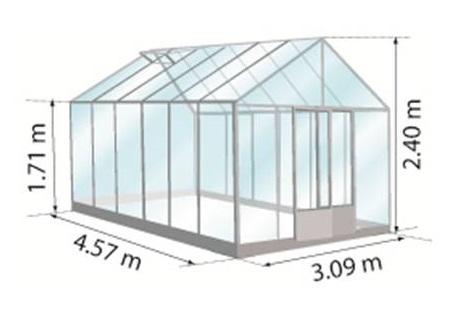 serre 14.10m2 Euro-maxi