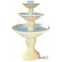 Fontaine Cascade en pierre reconstituée, 3 vasques, 170cm, achat/vente