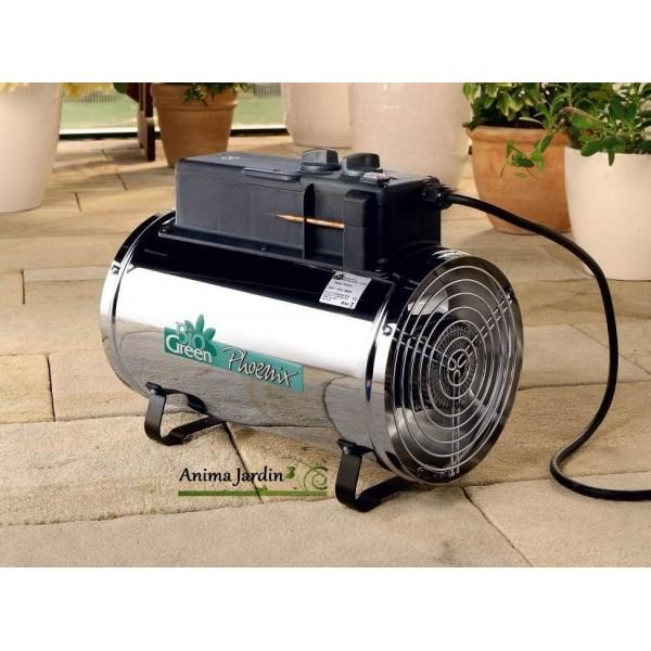 Chauffage lectrique soufflant pour serre de jardin 2800w - Cisaille electrique pour jardin ...