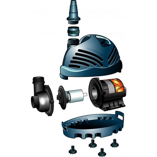 pompe pour bassin cascademax 12000 litres heure ubbink. Black Bedroom Furniture Sets. Home Design Ideas