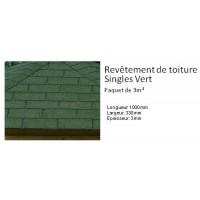 Shingles vert spécial toiture pour Abri de jardin, solid, achat, vente
