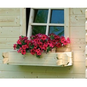 Jardinière en sapin pour Abri de jardin, solid, achat/vente