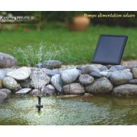 Cascade jet d 39 eau pompe filtre bassin anima jardin - Jet d eau solaire pour petit bassin ...