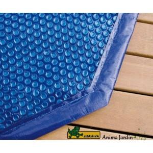 Bâche à bulles pour piscine 400x610, rechauffement de l'eau, Ubbink, pas cher