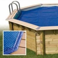 Bâche à bulles Octogonale, pour piscine, réchauffement de l'eau, Ubbink, pas cher