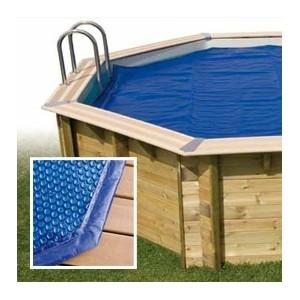 Bâche à bulles octogonale pour piscine, réchauffement de l'eau, Ubbink, pas cher