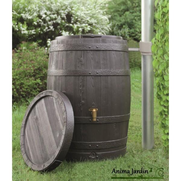 r cup rateur d 39 eau de pluie tonneau vino 250 litres. Black Bedroom Furniture Sets. Home Design Ideas