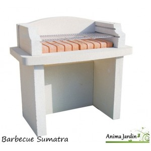 barbecue en pierre sumatra pas cher charbon de bois achat vente. Black Bedroom Furniture Sets. Home Design Ideas