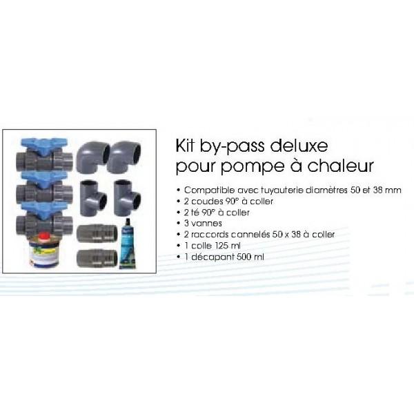 by pass pour pompe chaleur heatermax 15 20 30 ubbink. Black Bedroom Furniture Sets. Home Design Ideas