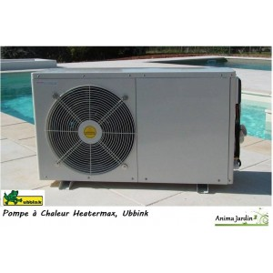 pompe chaleur heatermax 15 3 4 kw pour piscine achat vente ubbink. Black Bedroom Furniture Sets. Home Design Ideas