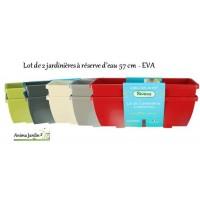 Jardinière à réserve d'eau Riviera EVA, 57 cm, achat/vente, pas cher