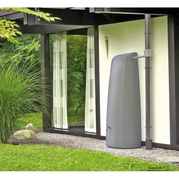 r cup rateur d 39 eau de pluie 400 litres elegance contemporain mural graf. Black Bedroom Furniture Sets. Home Design Ideas