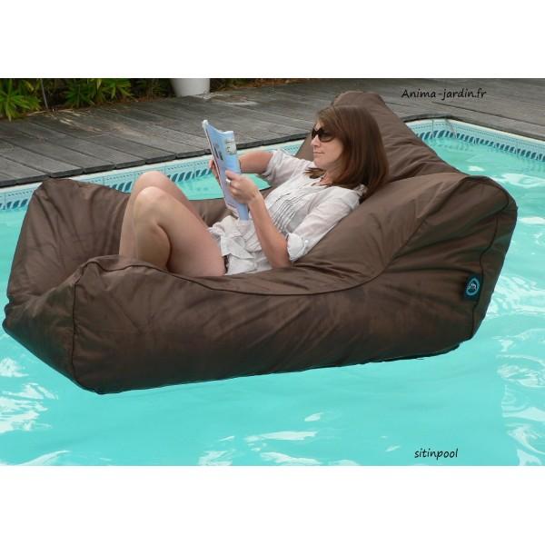fauteuil flottant piscine sitinpool canap de piscine. Black Bedroom Furniture Sets. Home Design Ideas