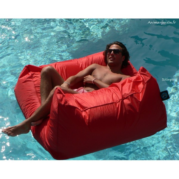 Fauteuil flottant piscine sitinpool canap de piscine - Coussin canape pas cher ...