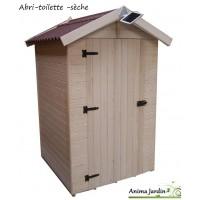 Toilettes sèches en bois avec sciure, abri extérieur, prix, achat/vente