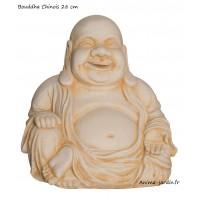 Bouddha Chinois 28 cm, Statue en pierre reconstituée, achat/vente