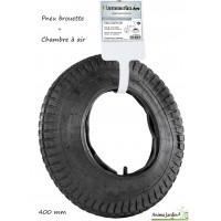 Pneu et Chambre à air de Brouette, 400 mm, réparation de roue, achat/vente