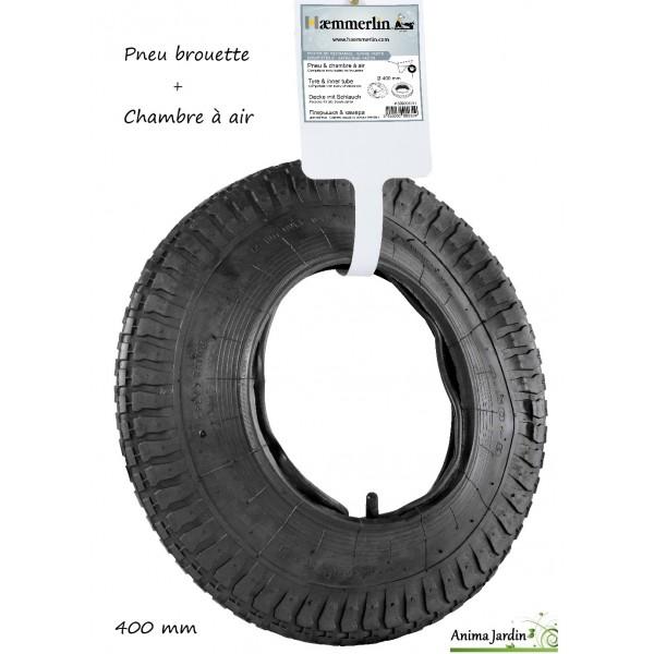 Pneu et chambre air de brouette 400 mm r paration de roue achat vente - Chambre a air roue de brouette ...