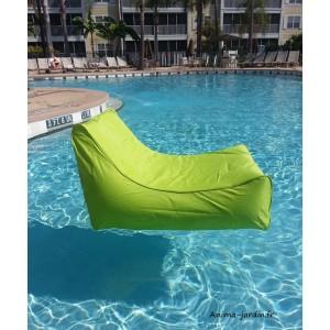 Fauteuil flottant piscine, Kiwi, gonflable, canapé de piscine, pouf pas cher