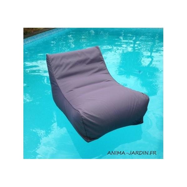 Fauteuil flottant piscine kiwi gonflable canap de - Matelas gonflable pour piscine pas cher ...