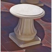 Tabouret en pierre reconstituée Romantique, Grandon, achat/vente