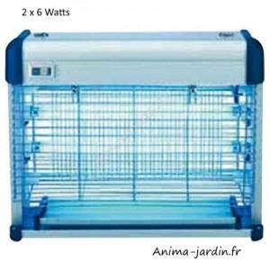 Lampe anti-moustiques et mouches, Masy, 2 x 6 watts, lampe ultra-violet