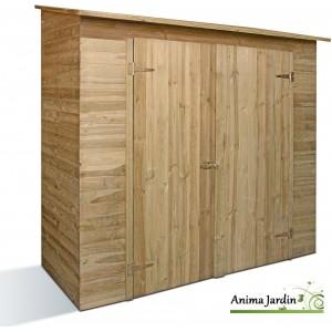 Remise à outils 2 portes, SAVONA, armoire de rangement pour Abri de jardin, achat/vente