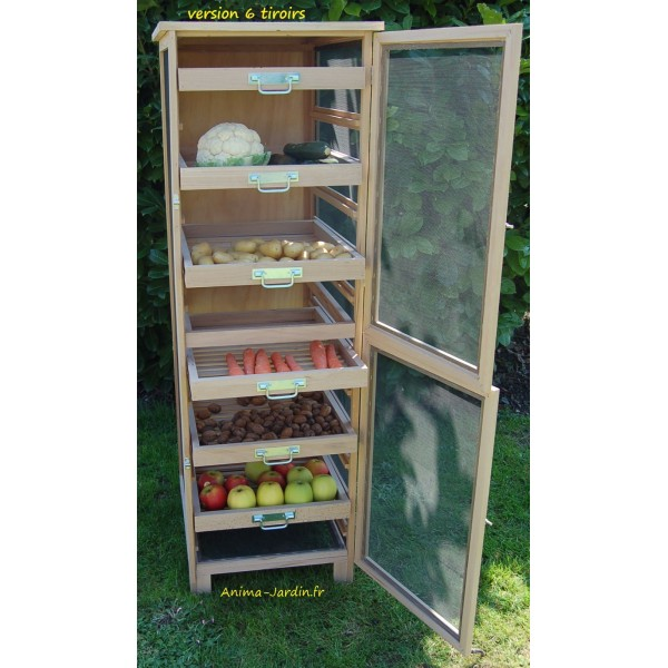 L gumier fruitier garde manger 150cm achat vente masy 240m for Garde manger meuble