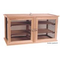 Garde manger double portes , 90cm, 4 étagères, achat/vente, Masy, 208