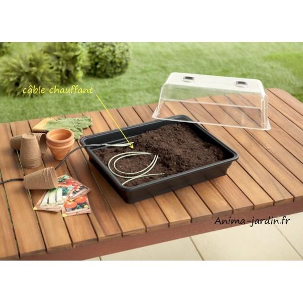 cordon chauffant pour semis chauffage mini serre auto rgul heating - Mini Serre De Jardin
