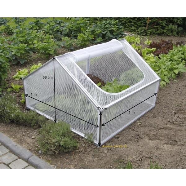 Serre chassis de jardin 1m pour semer des l gumes pas for Achat jardin