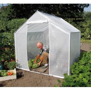 petite serre de jardin 4m pour cultiver ses l gumes. Black Bedroom Furniture Sets. Home Design Ideas