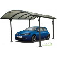 Abri voiture aluminium, carport toit arrondi, achat/vente, pas cher