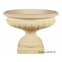 Coupe renaissance 100 cm, pierre reconstituée, vasque, contenant, achat