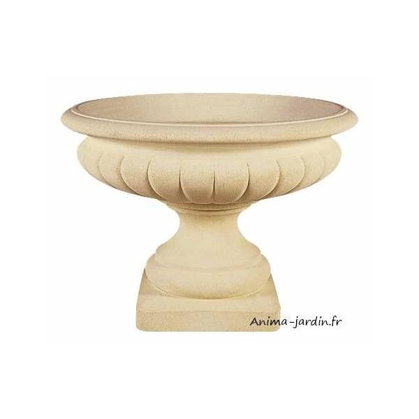 Coupe renaissance 100 cm pierre reconstitu e vasque for Jardin de fleurs a couper